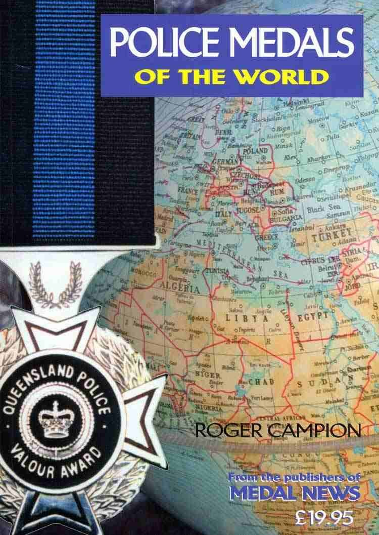 Police Medals of the World - (Paperback) in the Token Publishing Shop