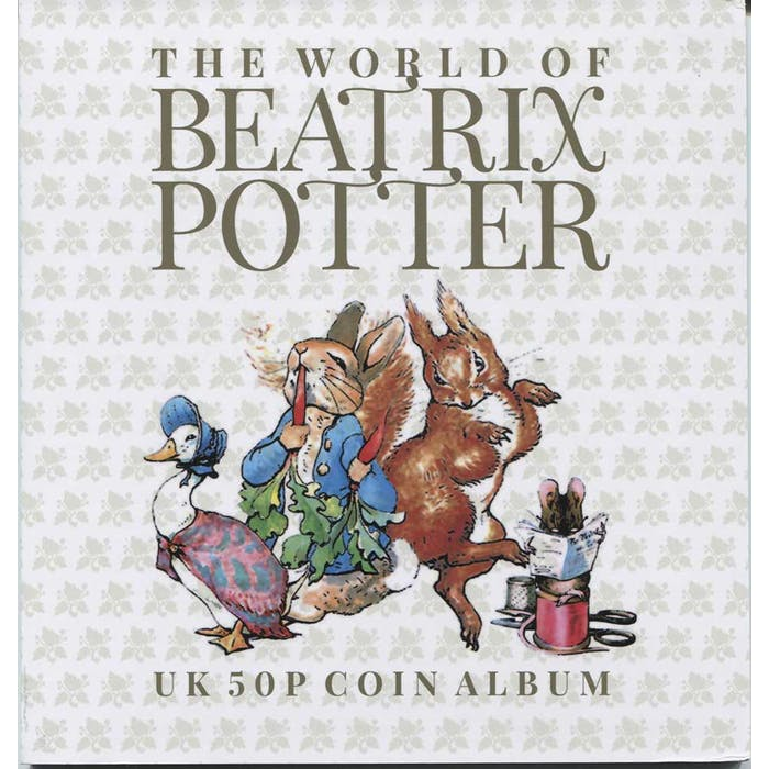 Beatrix Potter 50p Folder - Token Publishing Shop