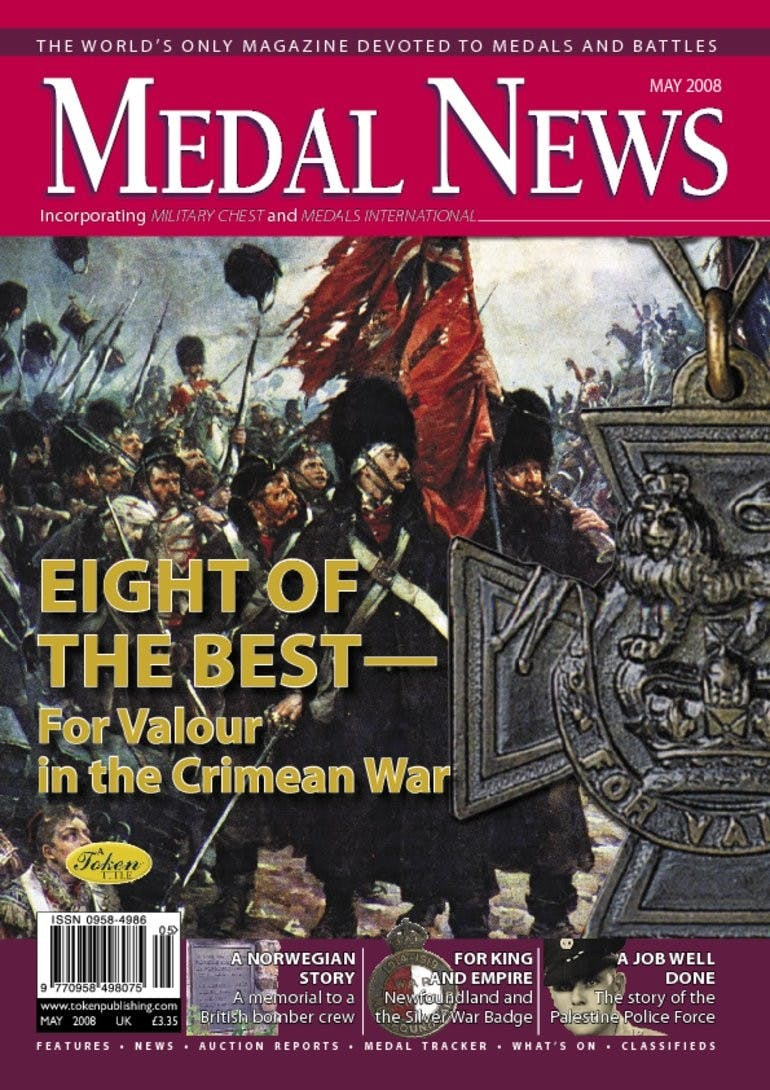 Front cover of 'Eight of the best', Medal News May 2008, Volume 46, Number 5 by Token Publishing
