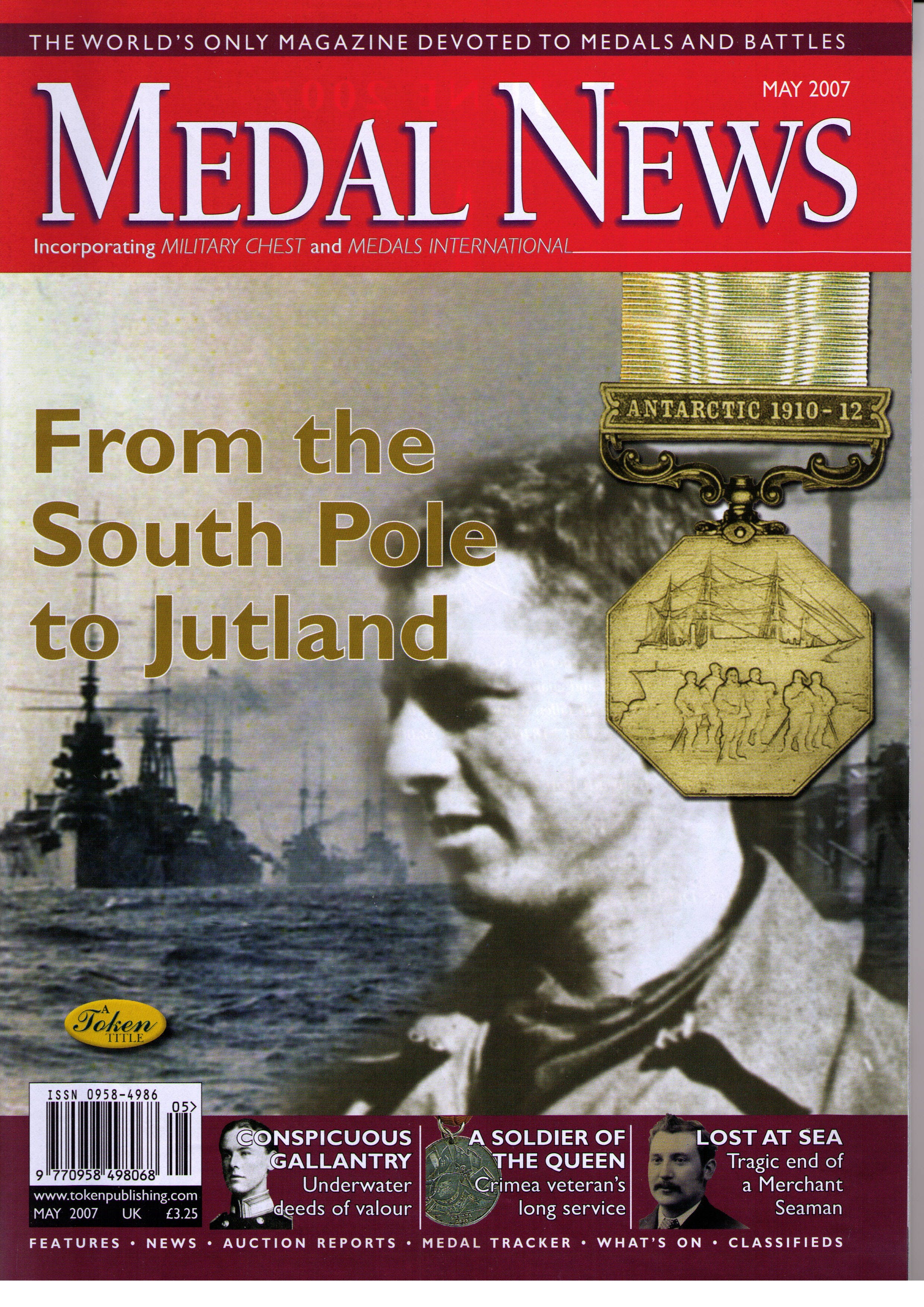 Front cover of 'Who do we think we are?', Medal News May 2007, Volume 45, Number 5 by Token Publishing
