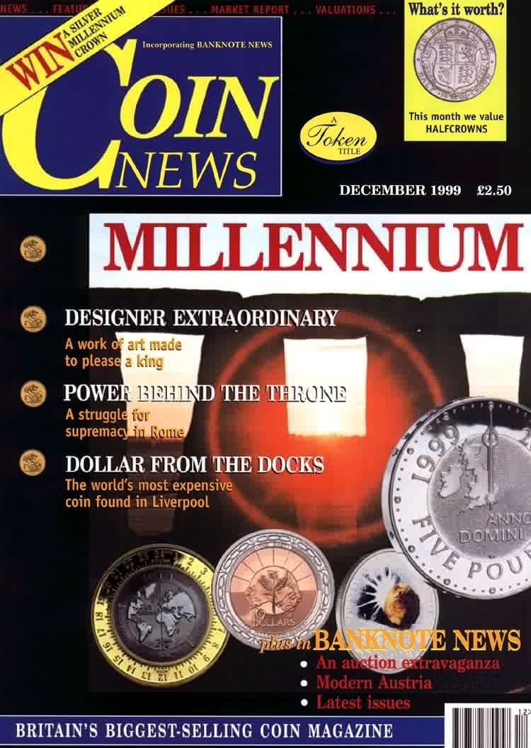 Front cover of 'Whither now?', Coin News December 1999, Volume 36, Number 12 by Token Publishing