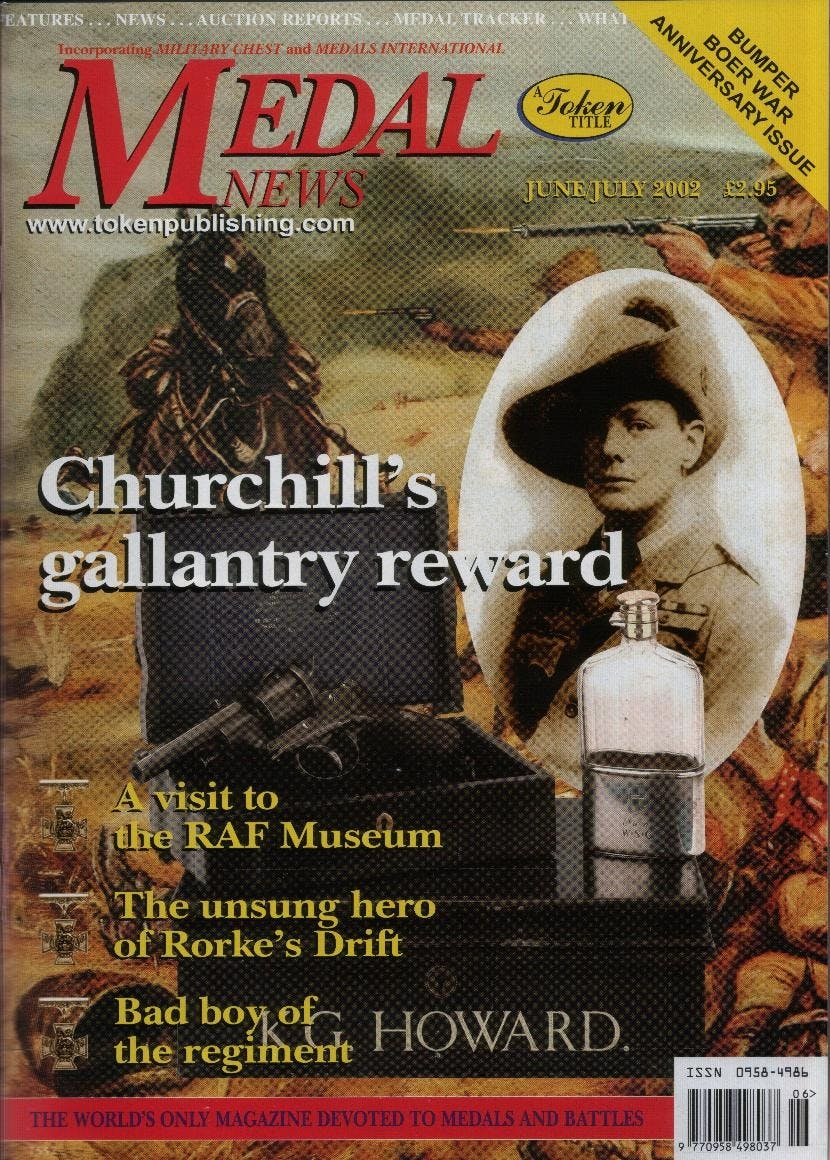 Front cover of 'A hobby of people', Medal News June 2002, Volume 40, Number 6 by Token Publishing