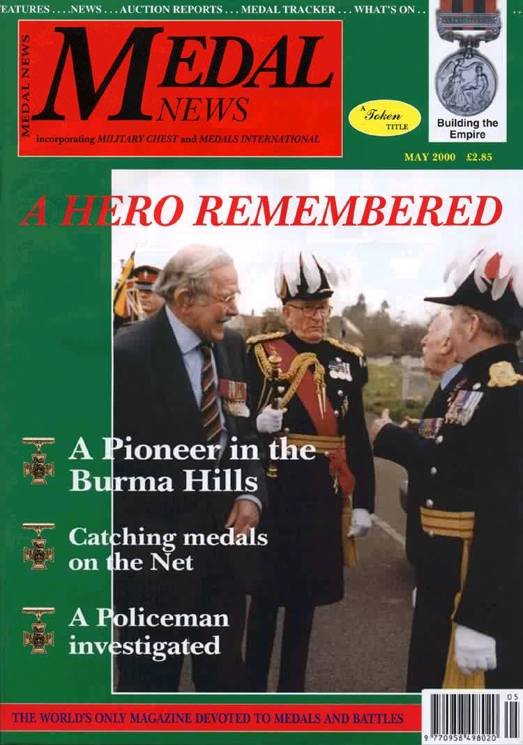 Front cover of 'Forgotten heroes', Medal News May 2000, Volume 38, Number 5 by Token Publishing