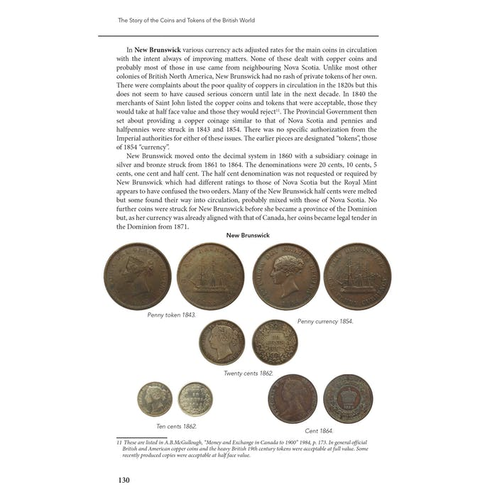 The Story of the Coins and Tokens of the British World. - Token Publishing Shop