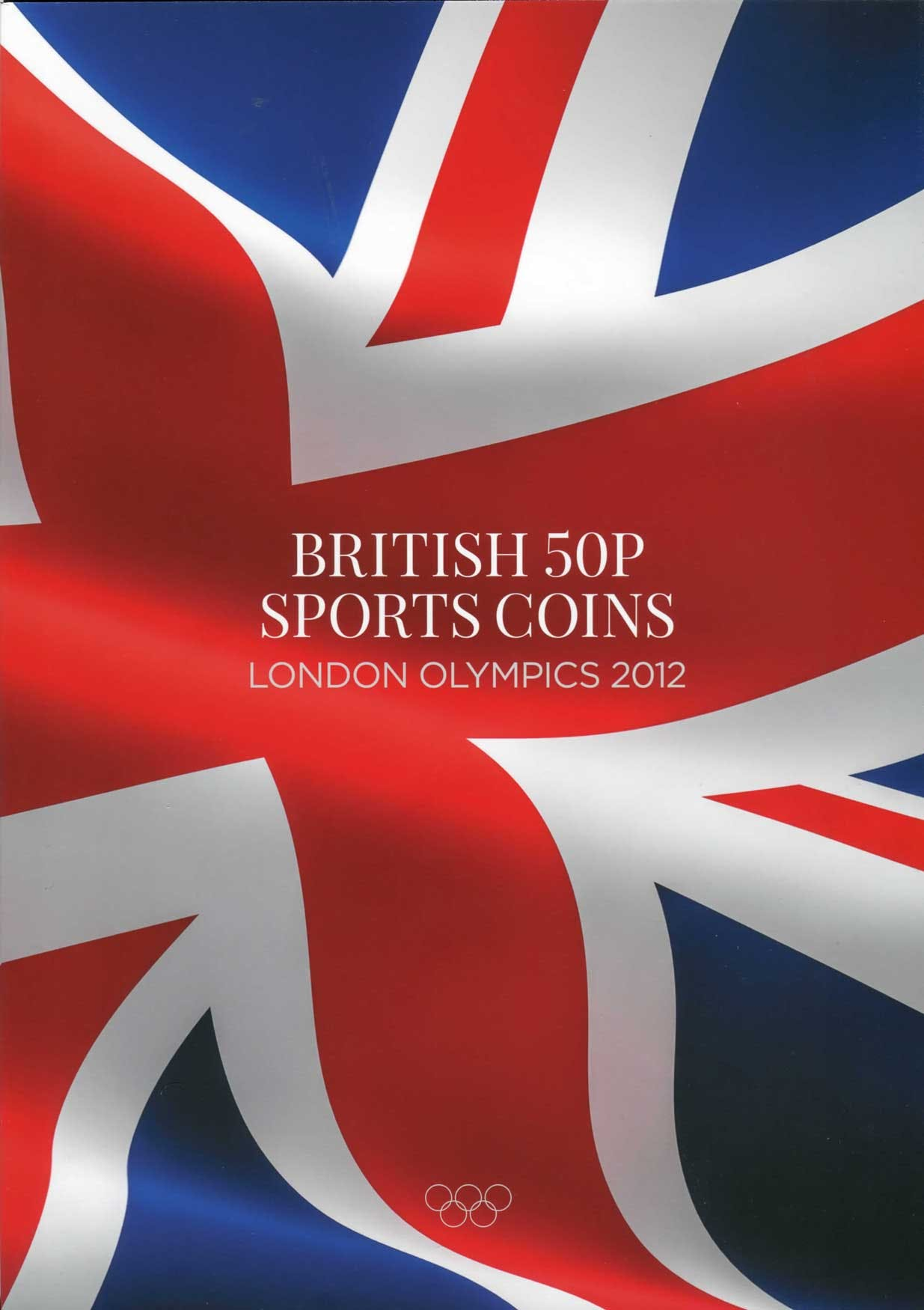 "British 50 pence ""Sports"" folder"