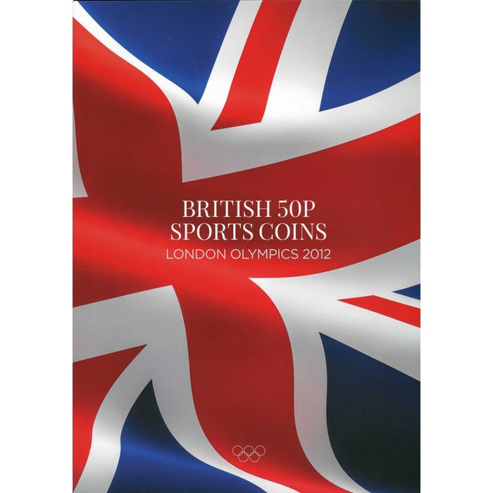 "British 50 pence ""Sports"" folder - Token Publishing Shop"