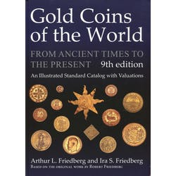 Gold Coins of the World in the Token Publishing Shop