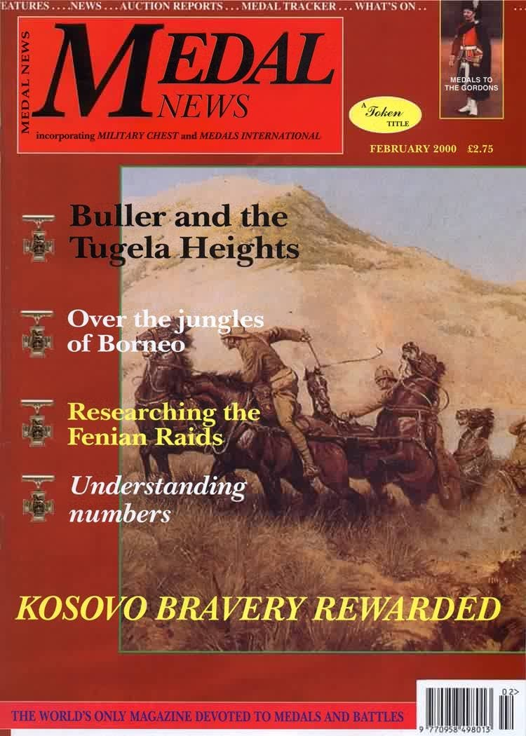Front cover of 'New century, new changes', Medal News February 2000, Volume 38, Number 2 by Token Publishing