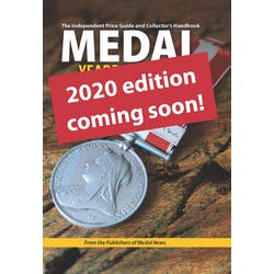 Medal Yearbook 2020 standard edition - coming soon in the Token Publishing Shop