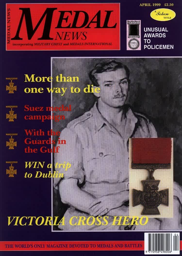 Front cover of 'WIDENING THE DEBATE', Medal News April 1999, Volume 37, Number 4 by Token Publishing