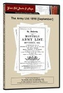 Army List 1898 in the Token Publishing Shop