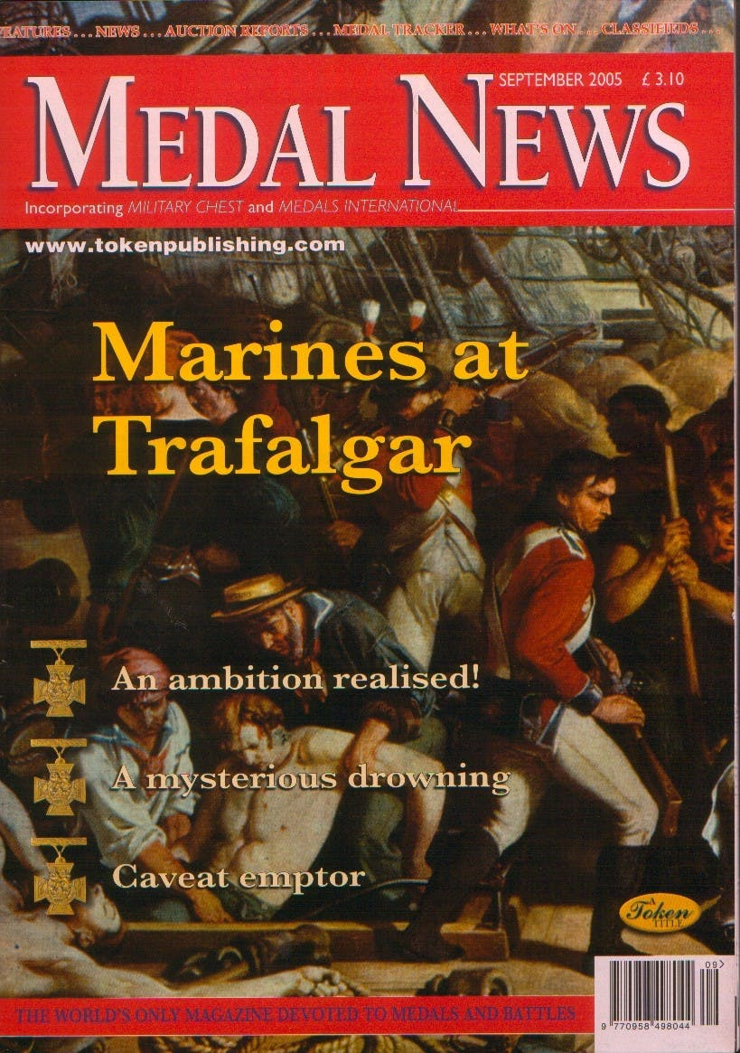 Front cover of 'Vive La Difference', Medal News September 2005, Volume 43, Number 8 by Token Publishing