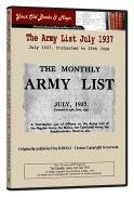 Army List 1937 in the Token Publishing Shop
